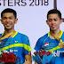 Pasangan Fajar/Rian Bawa Pulang Gelar Malaysia Masters 2018