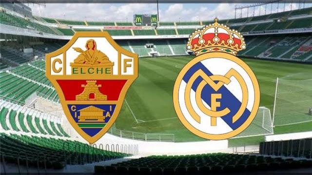 مشاهدة مباراة ريال مدريد وألتشي بث مباشر