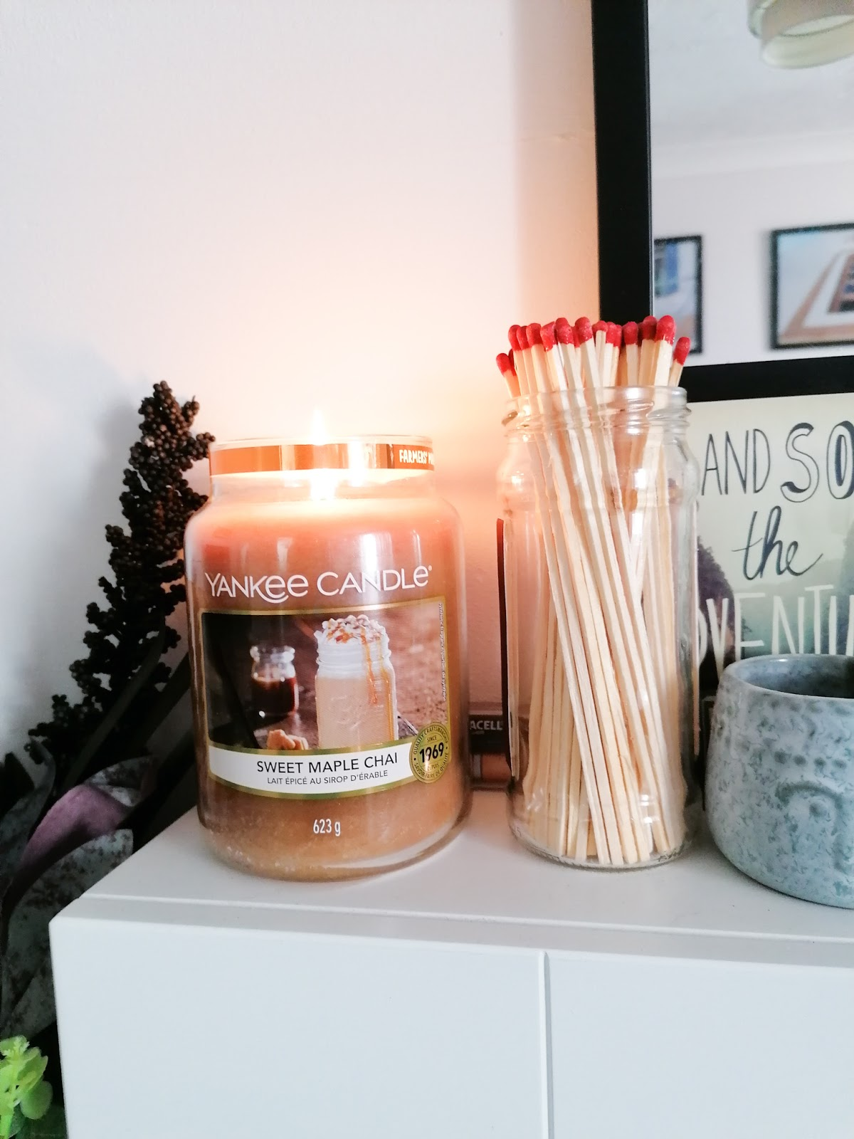 sweet maple chai Yankee candle review