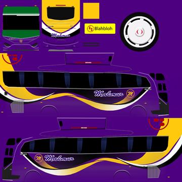 livery bussid makmur hd