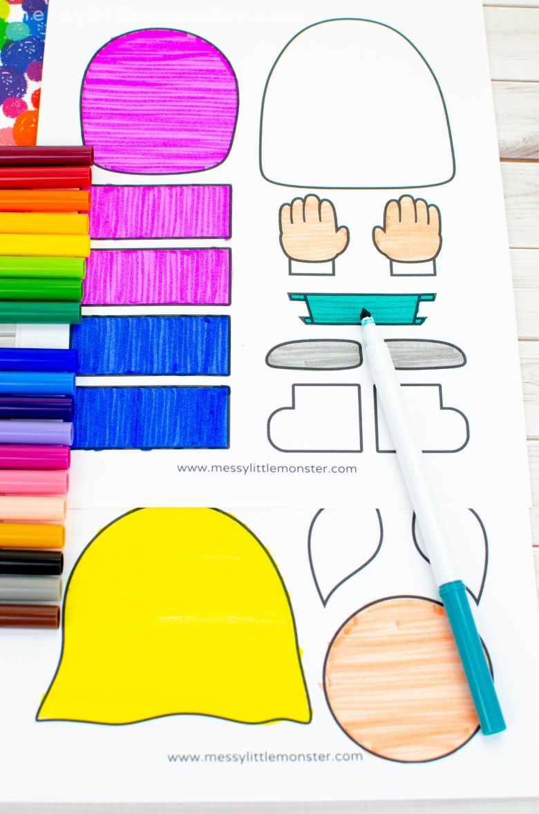 all about me craft for kids