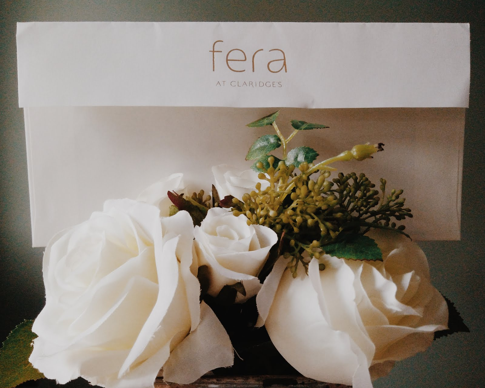 Michelin starred lunch in Fera at Claridge's