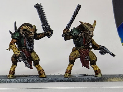 Finished Standing Beastmen