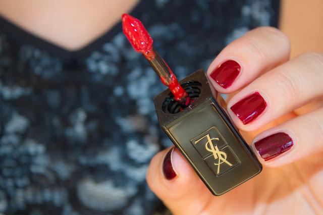 Osez l'effet Vinyle avec les nouveaux vernis à lèvres Yves Saint Laurent !
