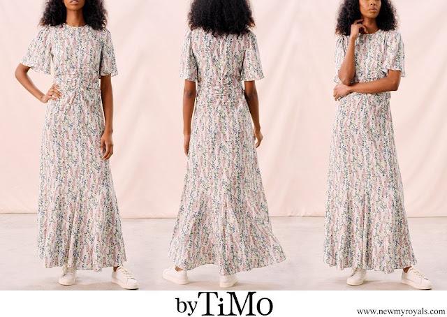Princess Sofia wore By Timo Delicate Maxi Dress