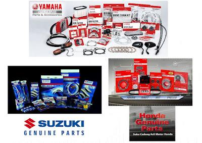 Komparasi Suku cadang Motorsport 150