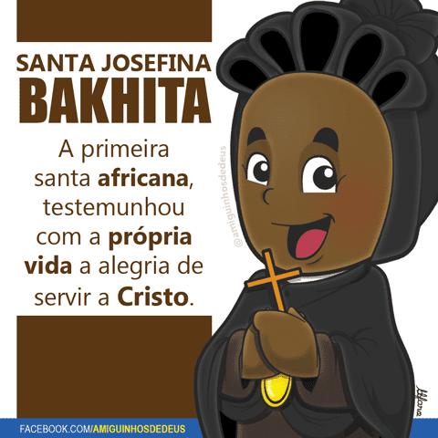Santa Josefina Bakhita desenho