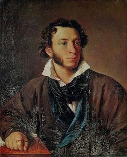 Πορτραίτο του Πούσκιν από τον Vasily Tropinin (1827)