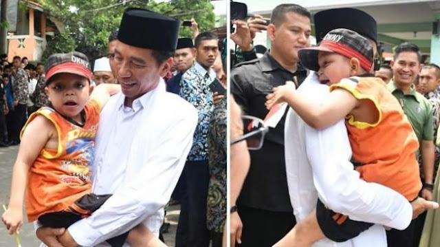 Melihat Jokowi dari Kacamata Bocah Bernama Rafi