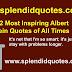 Top 52 Most Inspiring Albert Einstein Quotes of All Times | Albert Einstein Quotes