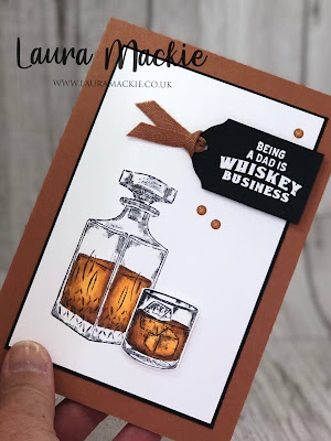 stampin up whiskey business