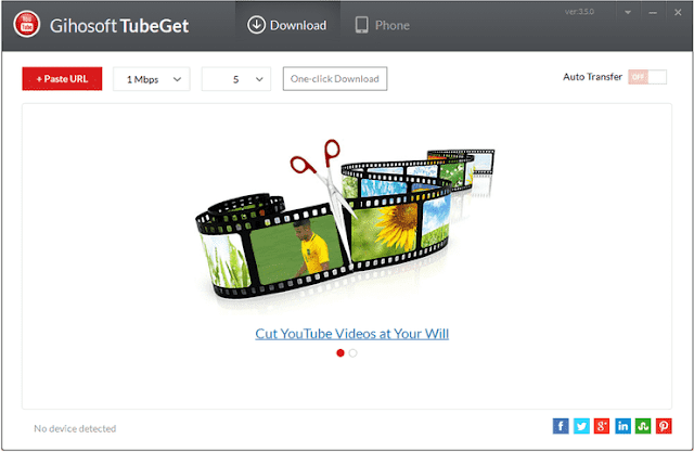 Download video dengan Gihosoft TubeGet
