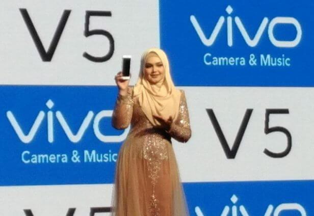 Vivo V5 with Siti Nurhaliza