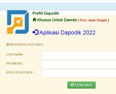 35 Daftar Link Download Prefill Dapodik Versi 2022 PAUD/SD/SMP/SMA/SMK Seluruh Indonesia dan Luar Negeri