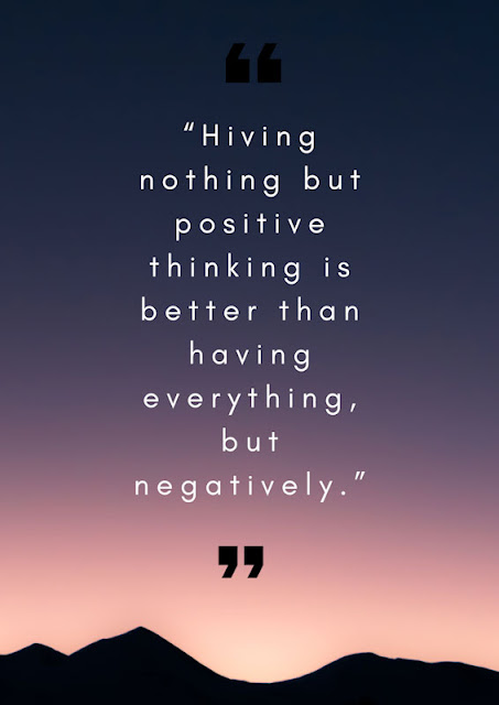 Positive thinking image for WhatsApp DP