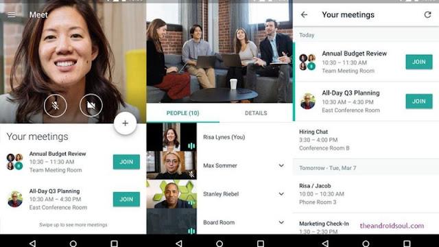وداعا فيس بوك | جوجل تصدر خدمة جديدة Google Meet سوف تقضى على ماسنجر وواتس اب