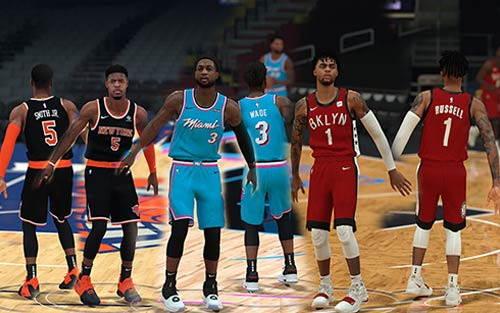 NBA 2K19 Fictional Pack Jersey