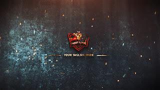 شعار سينمائي بشكل إحترافيEpic Fantasy Logo جاهز للتحميل مجانا