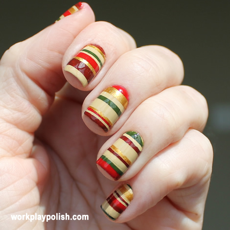 Chalkboard Nails Warm Pottery Nail Art Contest