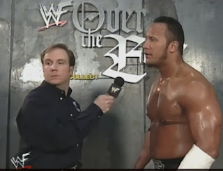 WWE / WWF Over the Edge 1999 - Kevin Kelly interviews The Rock