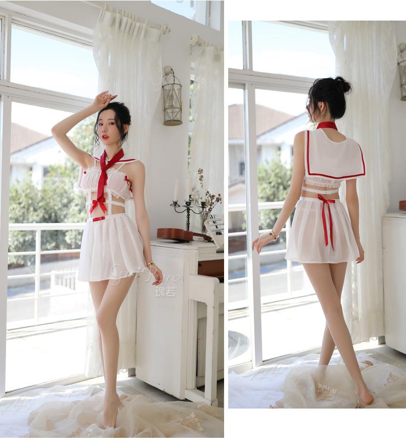 Váy ngủ đồng phục cosplay thuỷ thủ 4
