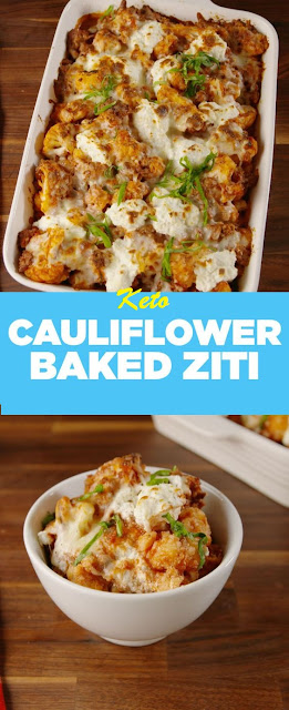 Cauliflower Baked Ziti