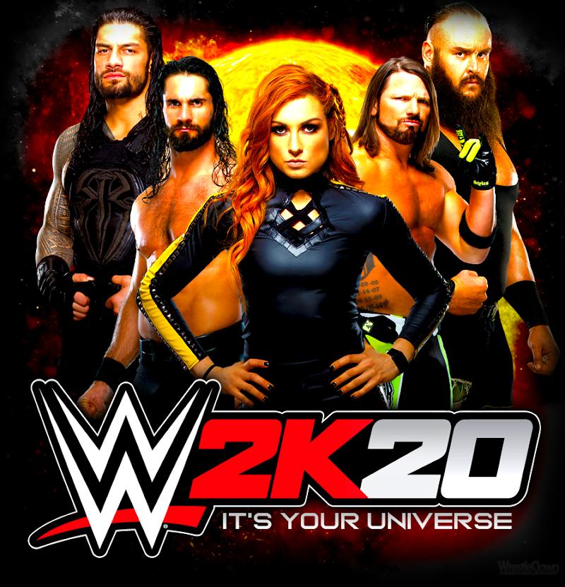 WWE 2K20 MOD  FULL SAVEDATA   PPSSPP