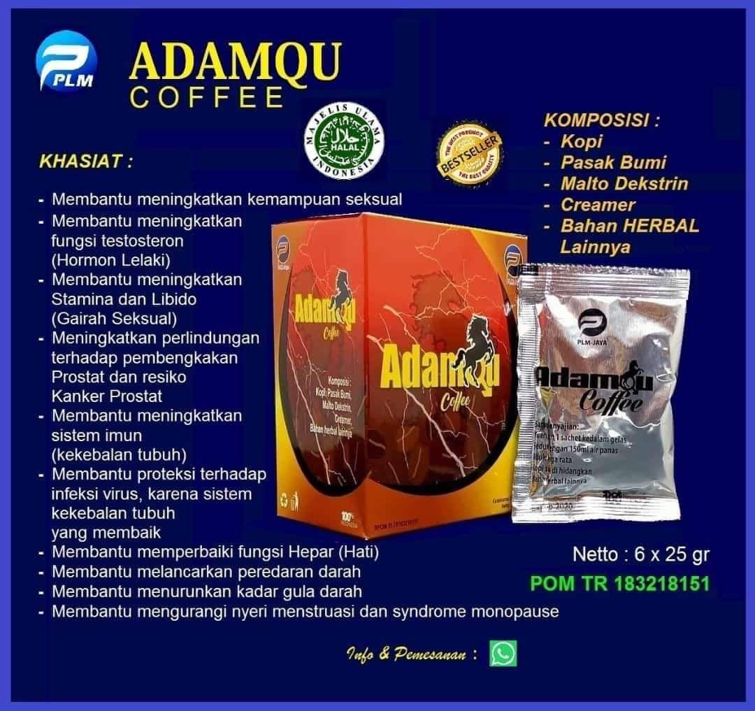 Adamqu Coffe Membantu Meningkatkan Stamina