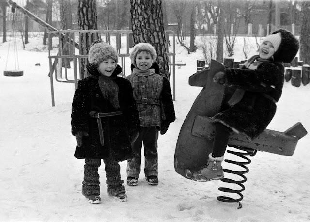 1980-е годы. Рига. Межапарк. Детский городок