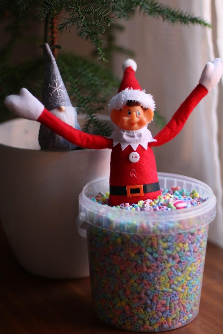 elf on the shelf idea, hamahelmi