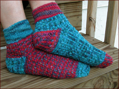 Mentmore Socks by Moira Ravenscroft, Wyndlestraw Designs