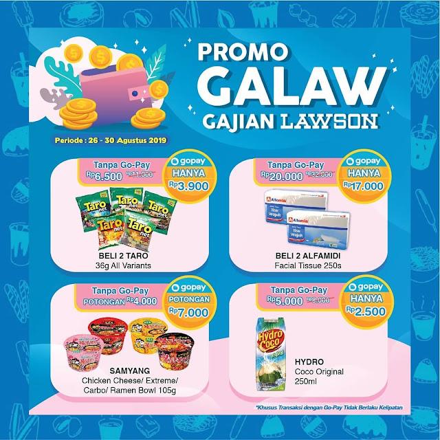 #Lawson - #Promo GALAU GAJIAN LAWSON (s.d 30 Agustus 2019)