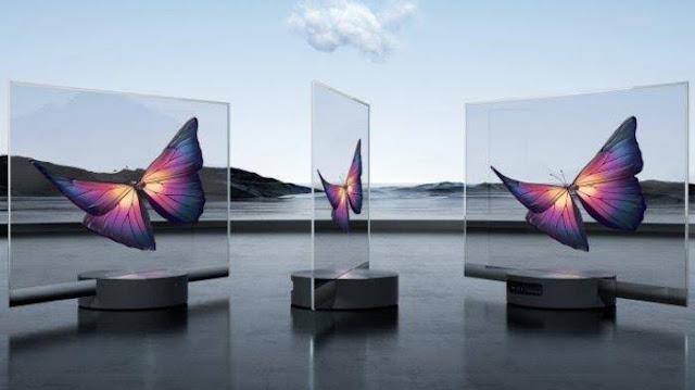 Xiaomi merilis TV transparan pertama di dunia