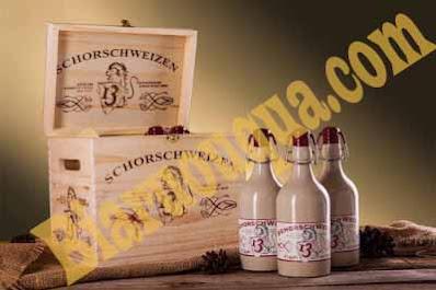 Bia Đức Schorsch Weizen chai sứ