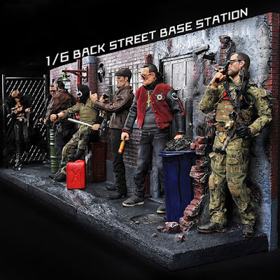 toyhaven: Toys Box 1/6th scale Back Street Base Station