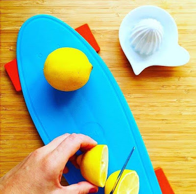Skate Cutting Board