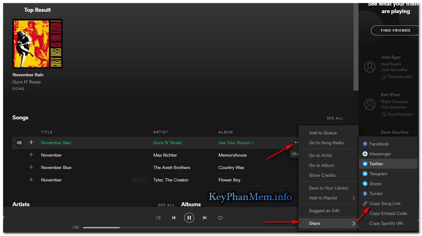 Hướng dẫn tải nhạc ở Spotify