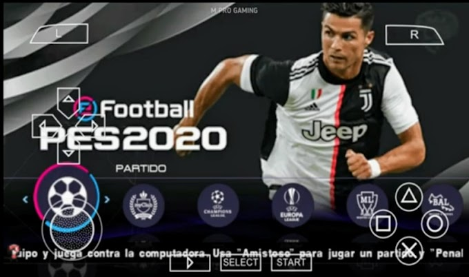 Download PES 2020 Iso File On Android For Ppsspp Emulator (Normal And Ps4 Camera)