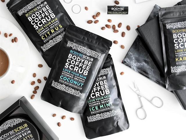 bodybe scrub kávový peeling