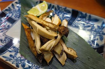 Keria Japanese Restaurant, matsutake yaki
