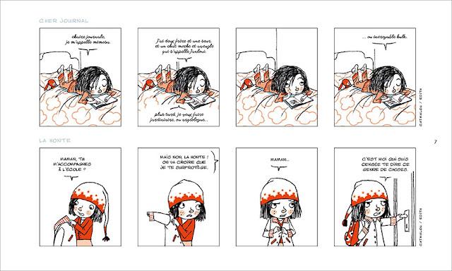 """page de """"MIMOSA"""" de Catmalou et Edith chez Soleil"""
