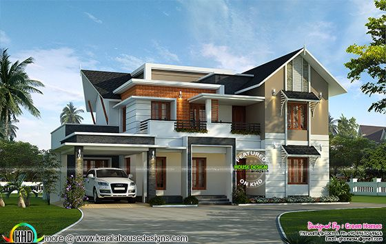 4 bedroom 2850 square feet home plan