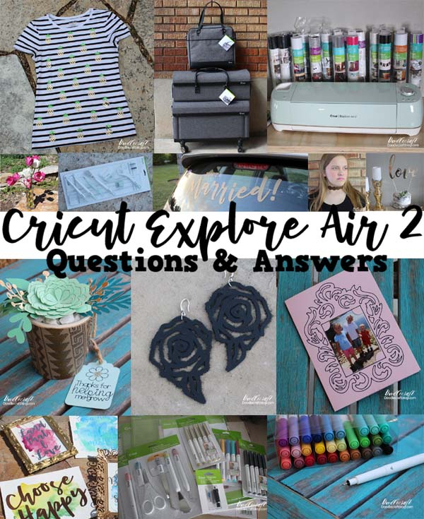 Cricut Questions and Answers