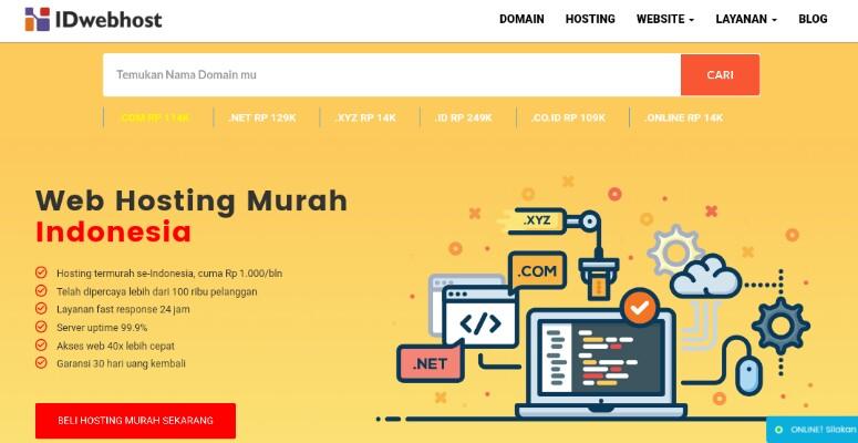 Web Hosting Idwebhost