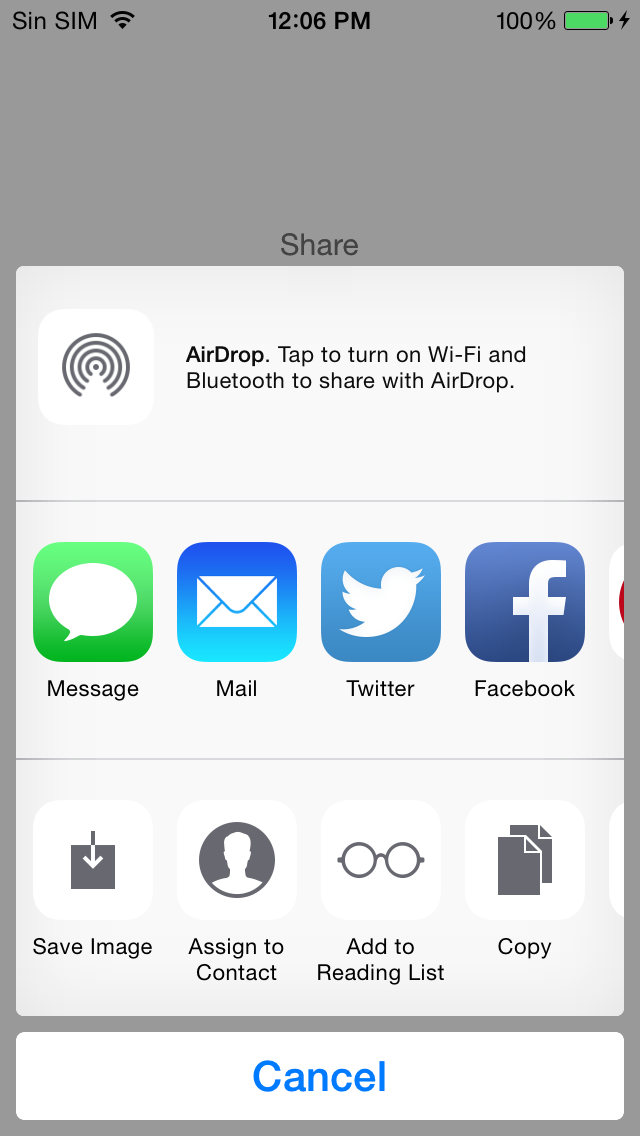 iOS Tips & Tutorials: How to open Share and Action Extension from