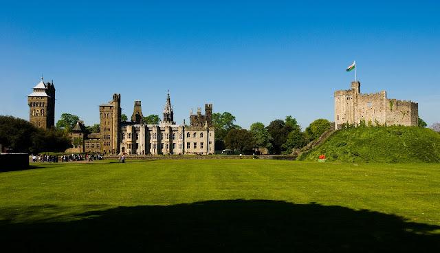 Cardiff Amazing Welsh Victorian Castle Wales United Kingdom HD Desktop Wallpaper