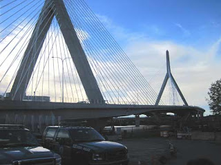 A Close Up Look At The Zakim Bridge