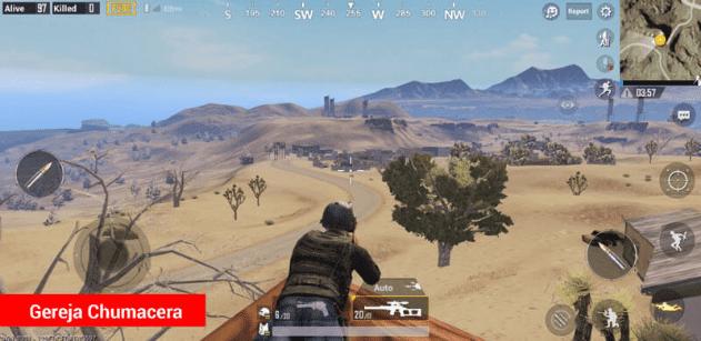 4 Lokasi Sniper Terbaik di Miramar PUBG Mobile