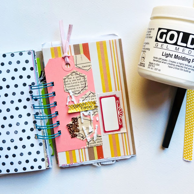#junk journal january #junk journal #journaling #mixed media # journal #mini book #smash book