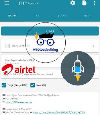 Latest Airtel  SocialPak Http Injector  2020 updated